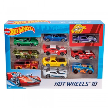 HOT WHEELS COFRET 10 VOITURES