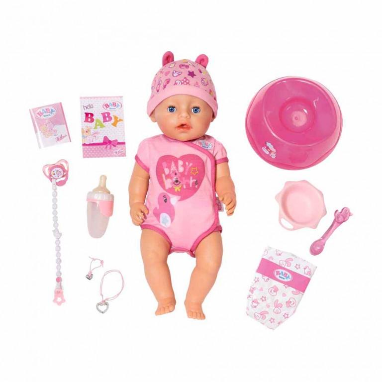 BABY BORN INTERACTIVE NIÑA (NOVEDAD)