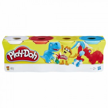 PLAYDOH PACK 4 BOTES