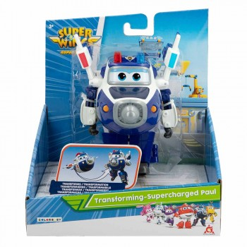 SUPER WINGS - FIGURA TRANSFORMING 4/S