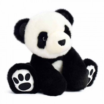 SO CHIC PANDA NOIR 25 CMS.