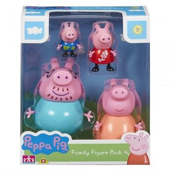 PACK 4 FIGURAS FAMILIA PIG