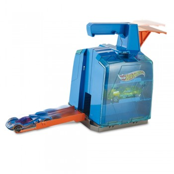HOT WHEELS CONTENEDOR LANZADOR