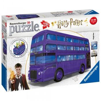 3D PUZZLE AUTOBUS NOCTAMBULO HARRY POTTE