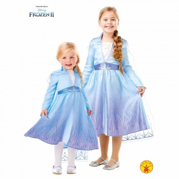 DISFRAZ ELSA TRAVEL FROZEN 2 TALLA XL