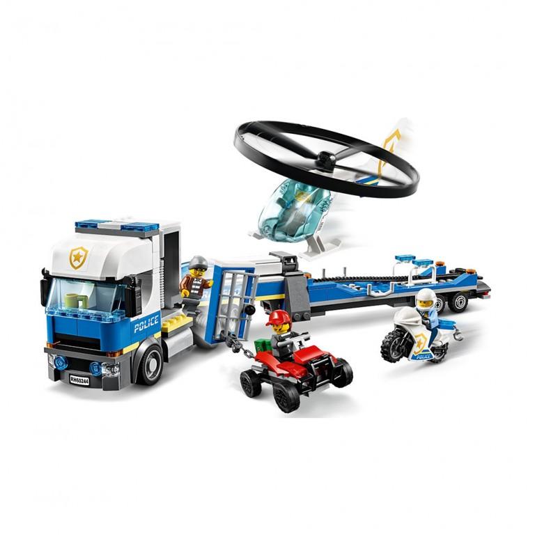 LEGO CITY POLICIA: CAMION DE TRANSPORTE