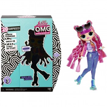L.O.L SURPRISE - OMG FASHION DOLLS 3 DIS