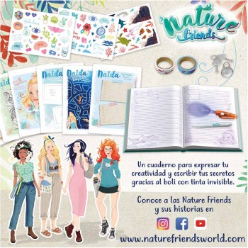 DIARIO SECRETO NATURE FRIENDS