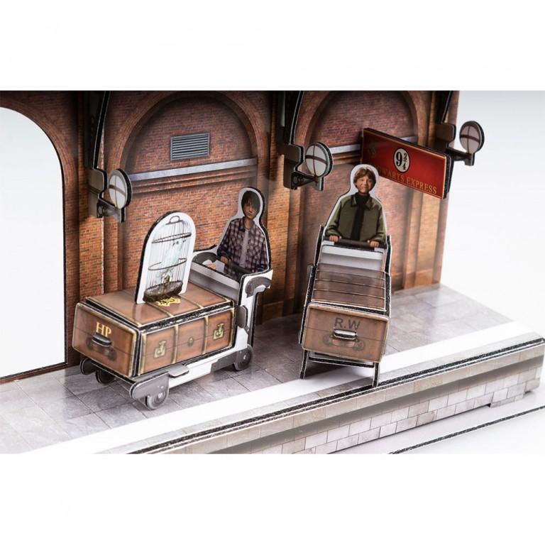 EXPRESO DE HOGWARTS PUZZLE 3D