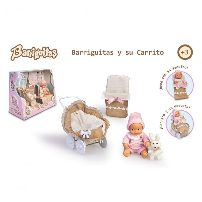 BARRIGUITAS CARRITO CON FIGURA DE BEBE
