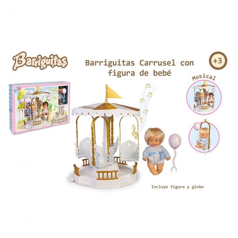 BARRIGUITAS CARRUSEL CON FIGURA DE BEBE