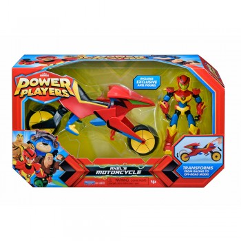 POWER PLAYERS MOTO DE AXEL CON FIGURA