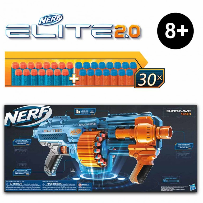 NERF ELITE COMMANDER RC-6
