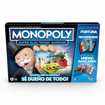 GAM MONOPOLY  SUPER ELECTRONIC BANKING