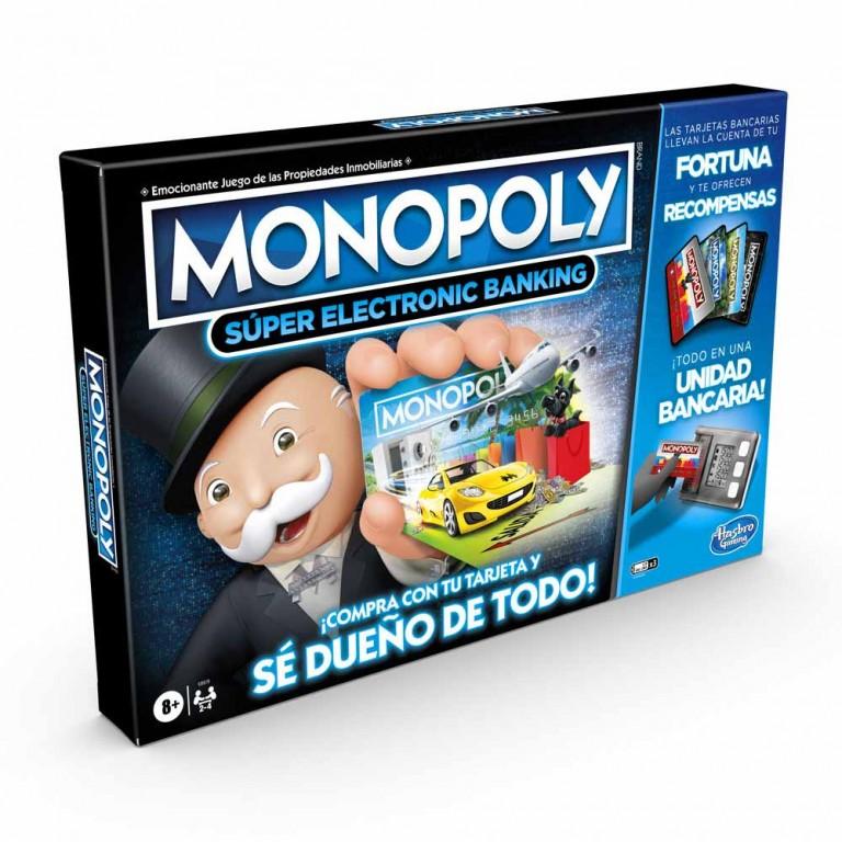 GAM MONOPOLY  SUPER ELECTRONIC BANKING