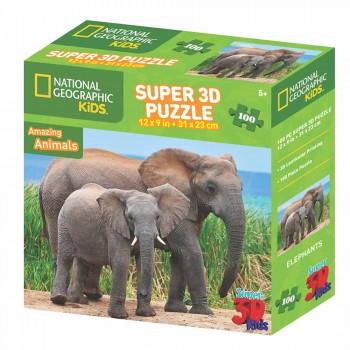 PUZZLE KID 3D SURTIDO TAMAÑO 31 X 23
