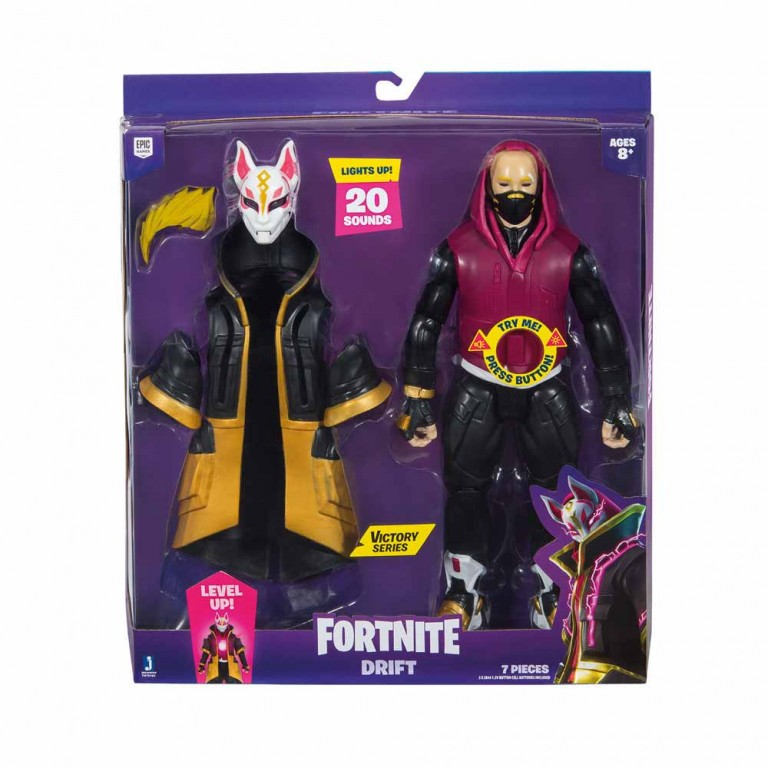 FORTNITE - 1 FIG.PACK VICTORY 30CM DRIFT