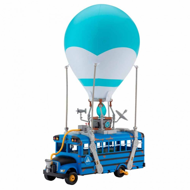 FORTNITE- SUPER BATTLE BUS LUZ Y SONIDO