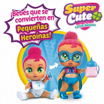 SUPER CUTE LITTLE BABIES MUÑECAS SUPERHE