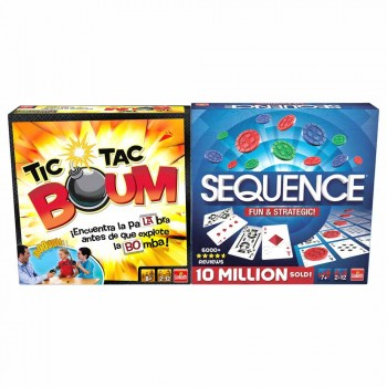 PACK TIC TAC BOUM + SEQUENCE