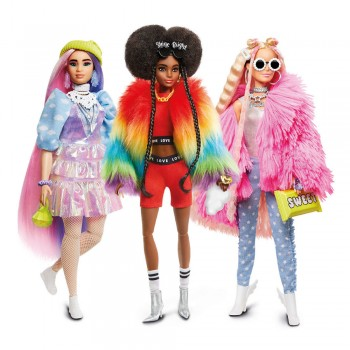 BARBIE FASHIONISTA XTRA  DL AST