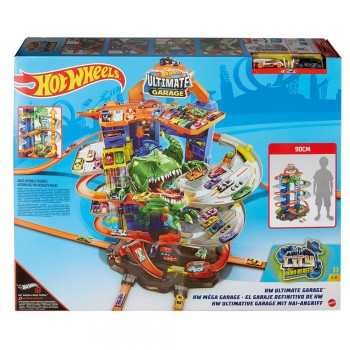 HOT WHEELS CITY NEW ULTIMATE GARAGE