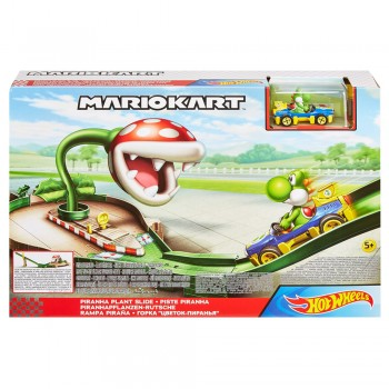 HOT WHEELS PISTA PIRAÑA DE MARIO KART