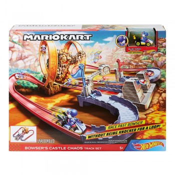 HOT WHEELS MARIO KART PISTA CASTILLO DE
