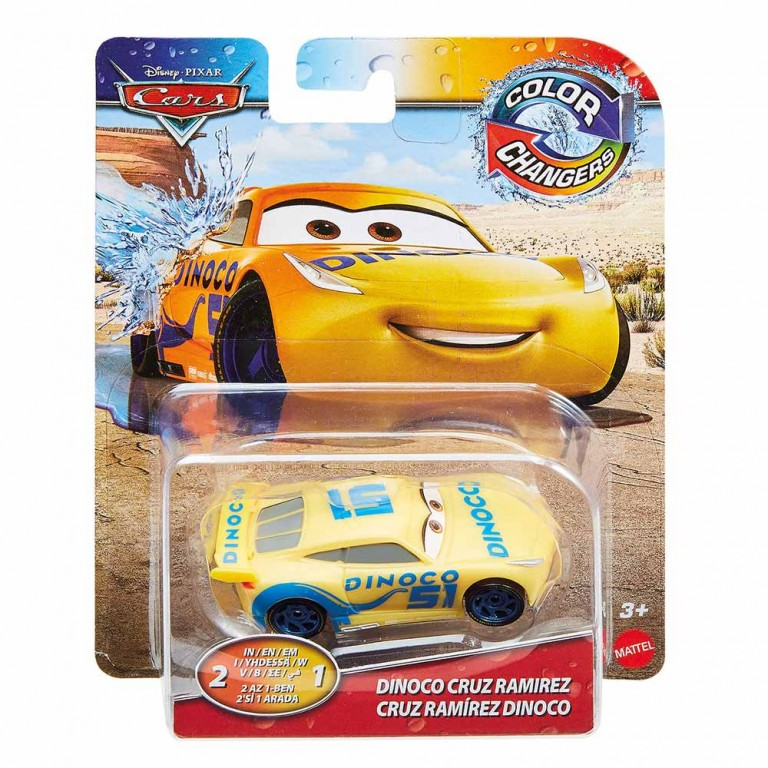 CARS COLOR CHANGERS FALL ASST