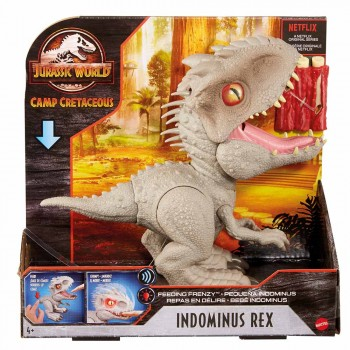 JURASSIC WORLD FEEDING FRENZY INDOMINUS