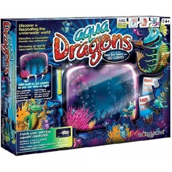 AQUA DRAGONS DELUXE DEEP SEA HABITAT W/