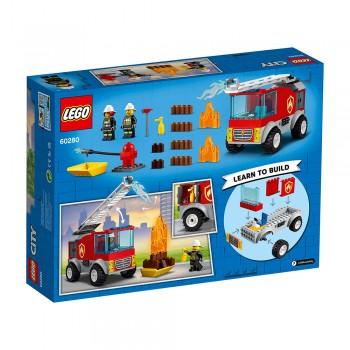 LEGO CITY FIRE CAMIÓN DE BOMBEROS ESCALE
