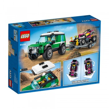 LEGO CITY FURGONETA TRANSPORTE BUGGY