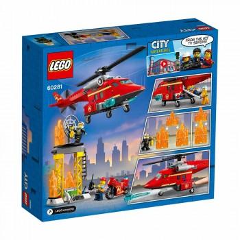 LEGO CITY HELICÓPTERO RESCATE DE BOMBERO
