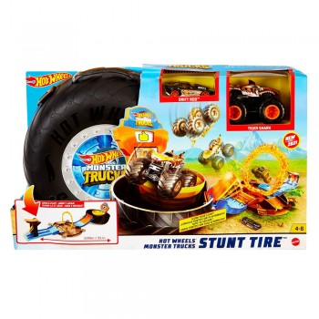HOT WHEELS MONSTER TRUCKS RUEDA ACROBAC