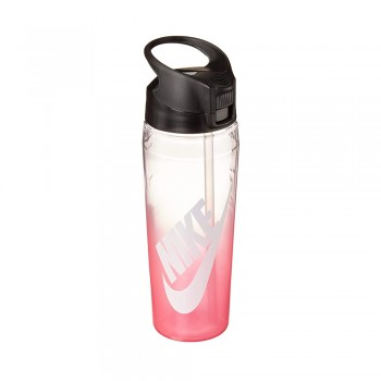 NIKE TR HYPERCHARGE STRAW BOT 700ML ROSA/TRANSPARENT