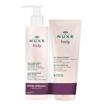 NUXE BODY MILK 400ML + GEL DUTXA 200ML