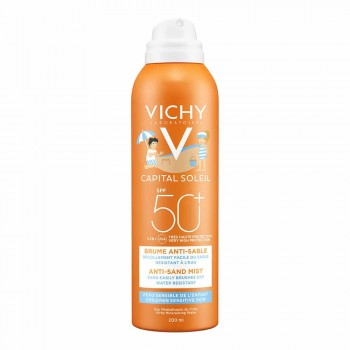 VICHY CAPITAL SOLEIL BOIRA SOLAR ANTISORRA PER A INFANTS SPF50+ 200 ML