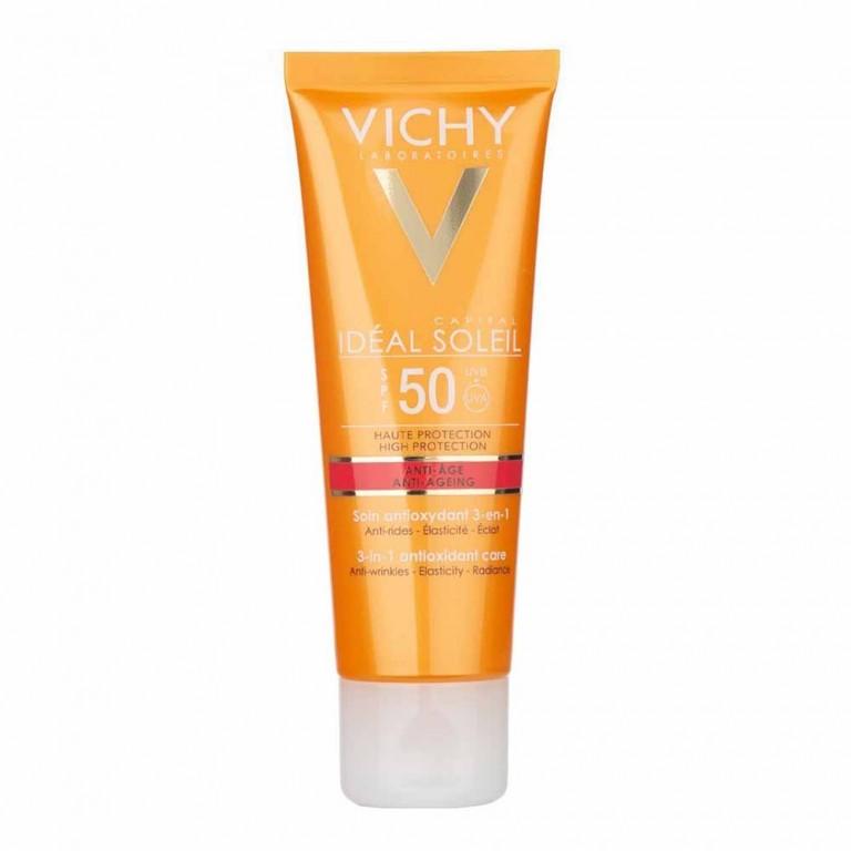VICHY IDÉAL SOLEIL PROTECTOR SOLAR ANTIEDAT SPF50 50 ML