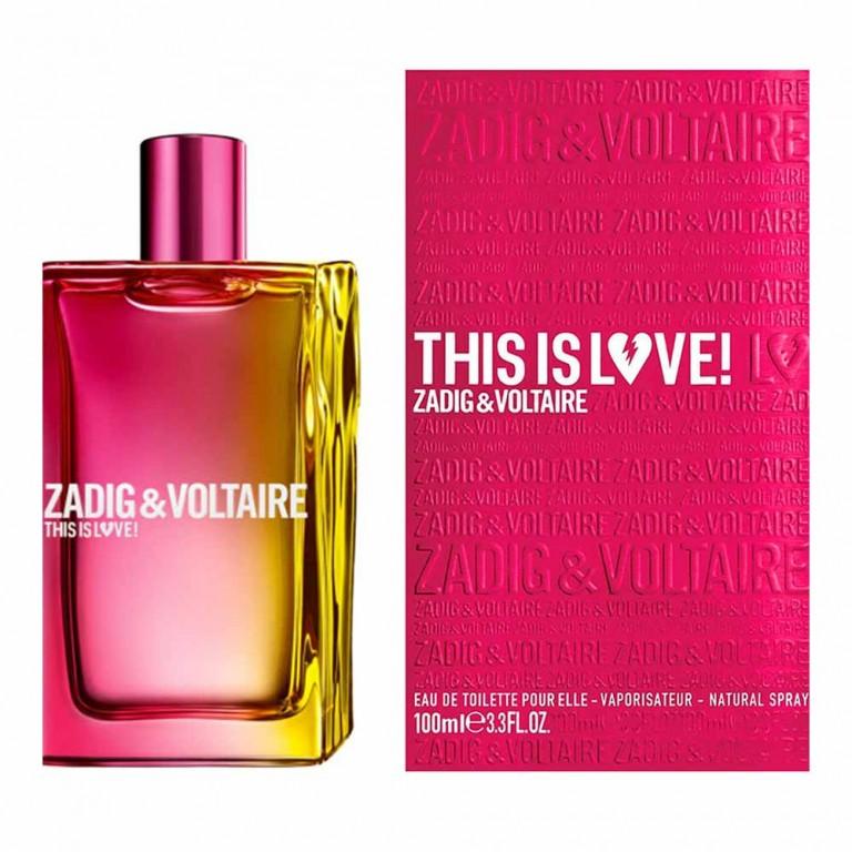 ZADIG & VOLTAIRE THIS IS LOVE POUR ELLE 100ML