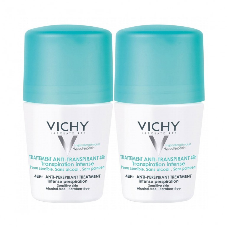 VICHY PACK DESODORANT ANTI-TRANSPIRANT ROLL-ON 2X50ML