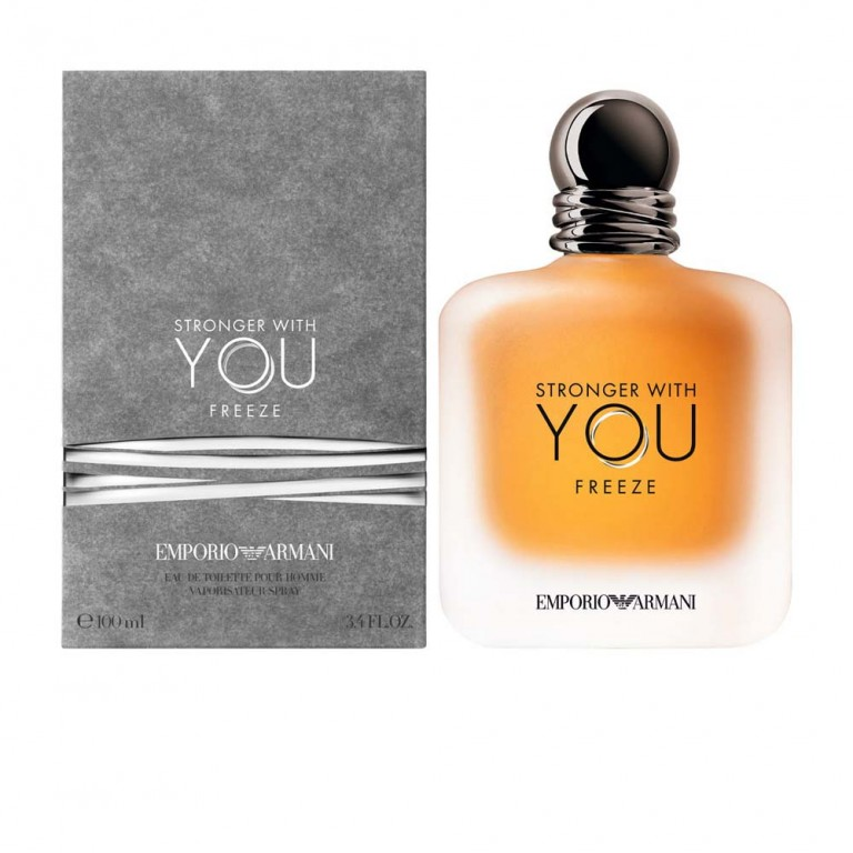 ARMANI EA STRONGER WITH YOU FREEZE EDT 100ML