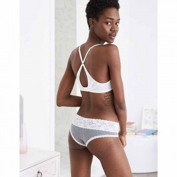 AERIE VINTAGE WL CHEEKY DARK HEATHER GRAY