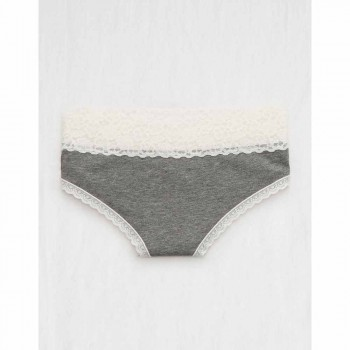 AERIE VINTAGE WL CHEEKY HEATHER GRAY