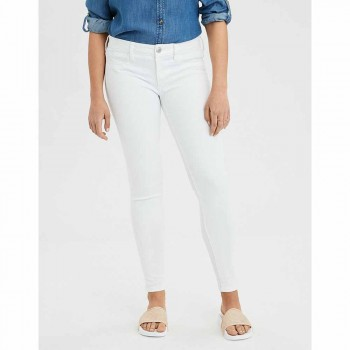 AMERICAN EAGLE 2INS NEXT JEGGING SPARKLE WHITE