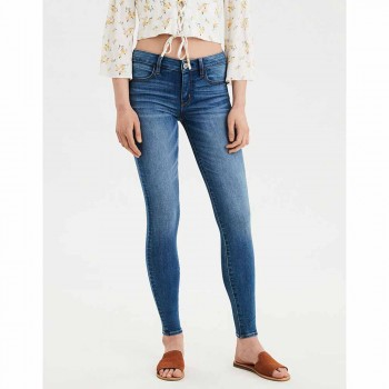 AMERICAN EAGLE 3INS NEXT JEGGING STARBURST BLUE