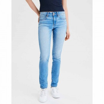 AMERICAN EAGLE SKINNY BRIGHT BLUE