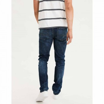 AMERICAN EAGLE AIRFLEX SLIM AUTHENTIC DARK INDIGO