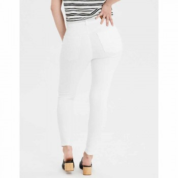 AMERICAN EAGLE CURVY HI-RISE JEGGING BRIGHT WHITE