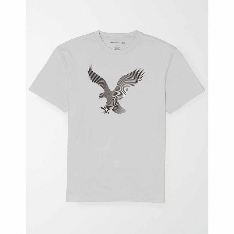 AMERICAN EAGLE SS SET IN TEE- MFO BRAND LIGHTNING GRAY